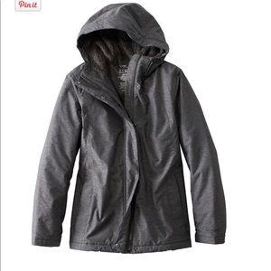 LL bean women's petite winter warmer jacket